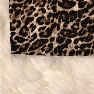 Xhilaration Dresses - Xhileration long sleeve leaopard ponti dress